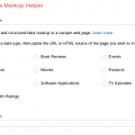 Structured Data Markup Helper