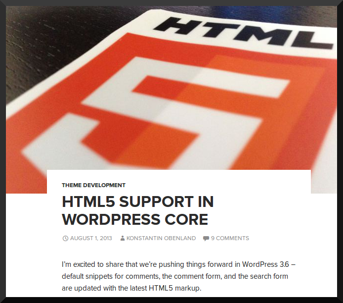 ThemeShaper HTML5 Announce